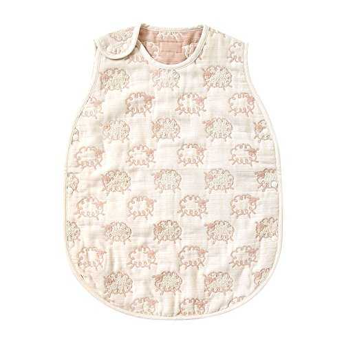 Baby Sleeping Vest Hoppetta champignon 6 double gauze Sleeper F//S from Japan