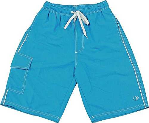 FRS Ltd Seafood and Fish Pattern Mens Quick Dry Beach Board Swim Trunks Shorts