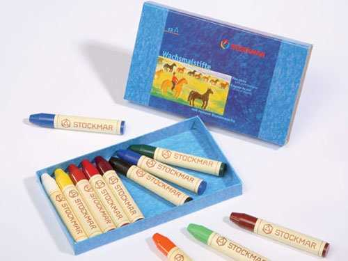 Natural Rice Crayons Set of 16 Beautiful and Natural Colors Mizuiro ST-RICE02
