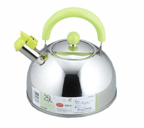 PEARL METAL wide-mouth kettle 5.0L tea strainer IH correspondence stainless