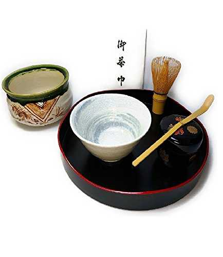 The first tea ceremony entrance exercise basin set front tea ceremony: Tea ceremony rehearsal basin front set Minohaki's brush eyebrow and Oibo grilled ...