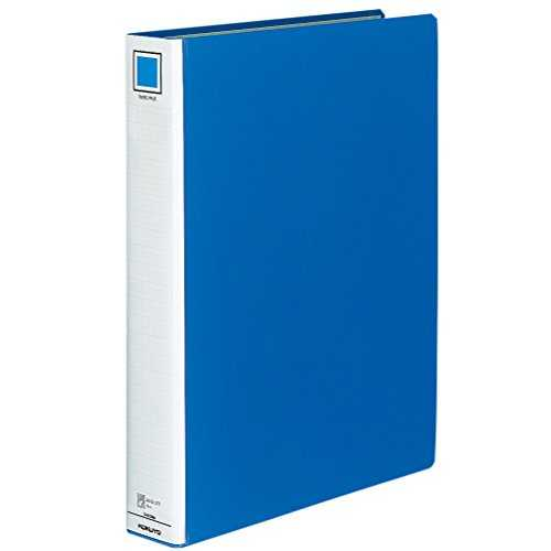 Kokuyo ring file 2 hole B6 horizontal 330-sheet blue off 409NB