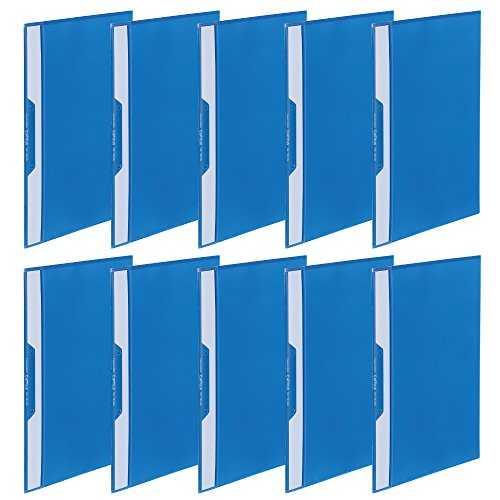 Kokuyo lever file Z-type A5 horizontal 120-sheet blue off 307NB
