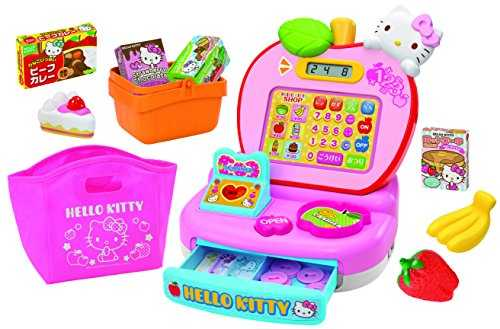 9cd283371 Hello Kitty Pippi and Lesson Register: Let's learn and play! Cute kitty  register scan will do anything! 4 modes with cash register calculation  loaded with!