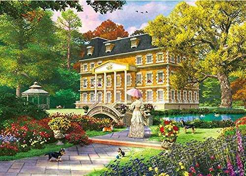 18 x 25 Boehme Apple Jack // Art Partners The Art of Nicky Boehme 1,000 Piece Jigsaw Puzzle 18 x 25 000 Piece Jigsaw Puzzle Garden Cottage Garden Cottage